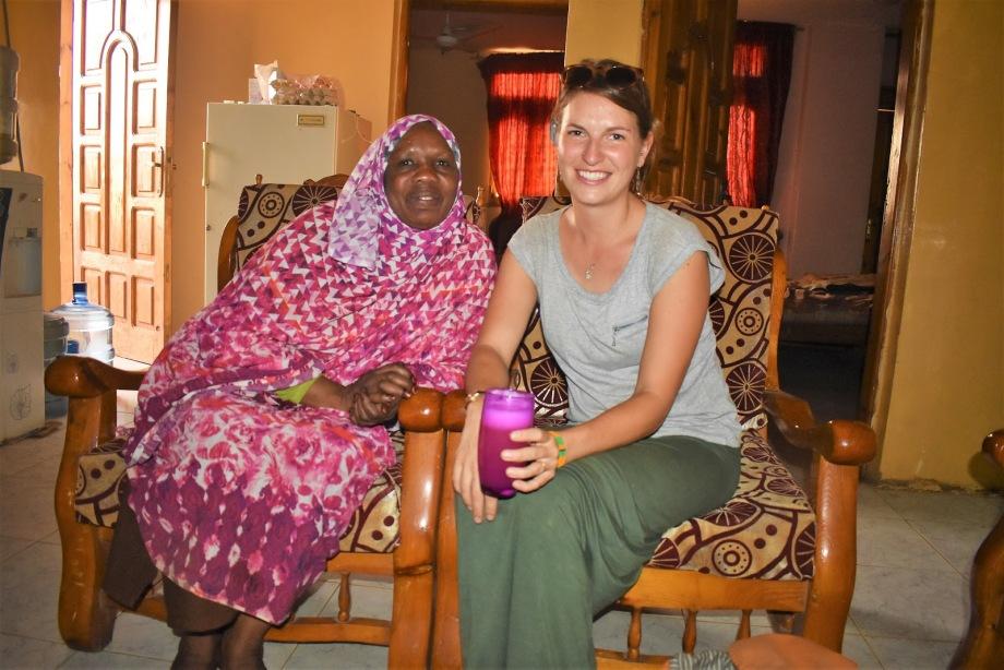 Spending time with Shadi who I met in Khartoum, Sudan.